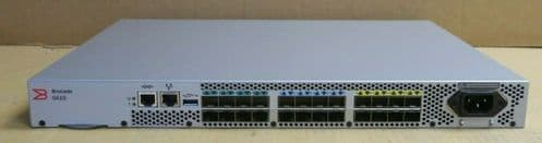 Brocade G610 24x 32Gb SFP+ Fibre Channel Switch BR-G610-8-16G-0 16-Ports Active